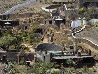 Gesamtansicht von Anlage Castillo-Schlaraffenland in La Asomada