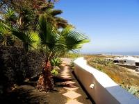 Garten von Castillo IV Lanzarote