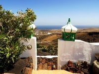 Terrasse mit Meerblich von Ferienhaus Castillo II
