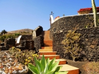 Treppenaufgang von Ferienhaus Castillo II