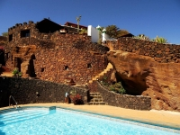 Aussenansicht von Ferienhäuser in La Asomada Castillo Lanzarote