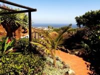 Aussicht vom Garten in Castillo Lanzarote