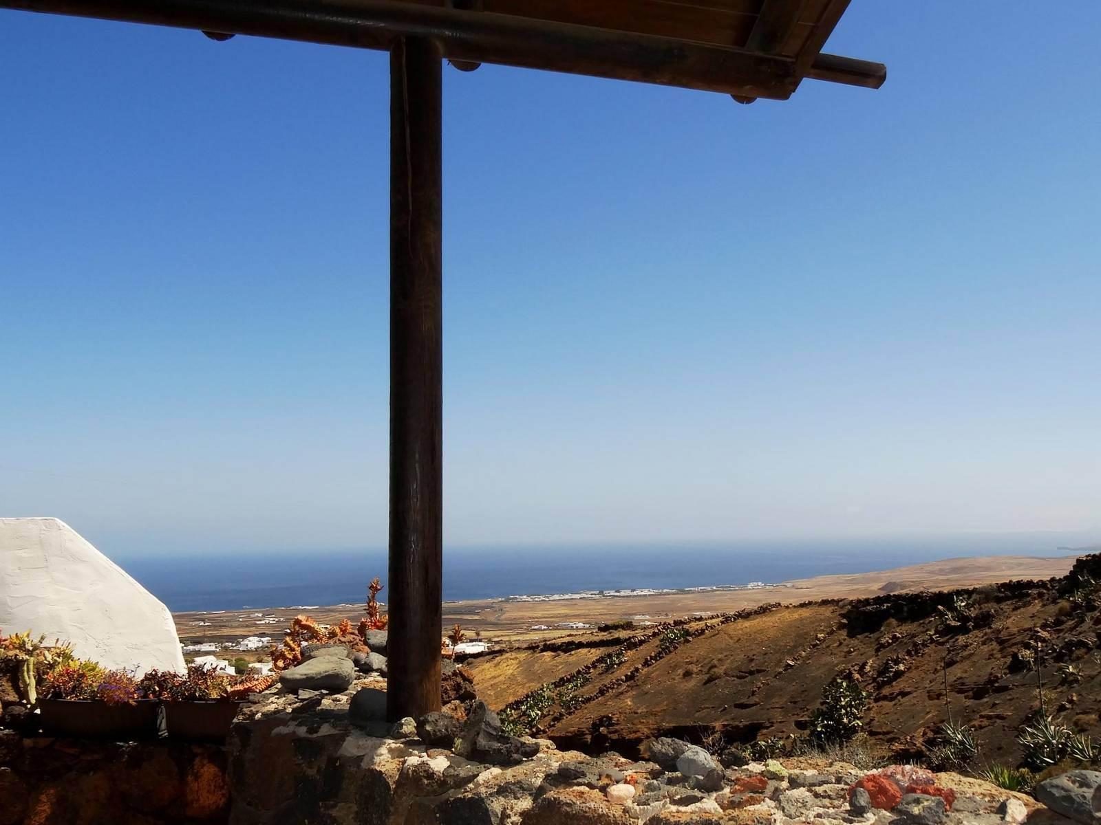 Aussicht der Terrasse im Ferienhaus in La Asomada Castillo II