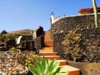 Aussenanlage von Ferienhaus in La Asomada Castillo II