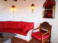 Wohnbereich von Ferienhaus in La Asomada Castillo II