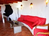 Wohnzimmer von Ferienhaus in La Asomada Castillo II