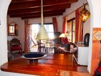 Ferienhaus in La Asomada Küche - Wohnbereich