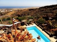 Blick von der Terrasse  von Ferienhaus in La Asomada Castillo II