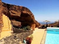 Poolbereich Ferienhaus in La Asomada Castillo II