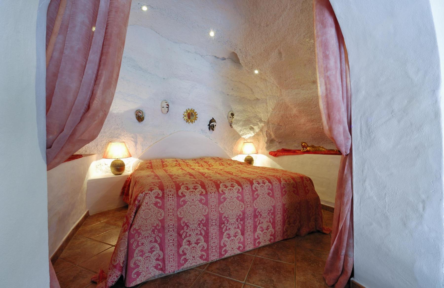 Schlafzimmer von Castillo II Lanzarote