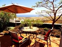 Terrasse mit Meerblick von Ferienhaus Castillo IV