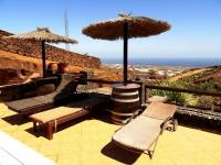 Poolbereich Ferienhäuser Castillo Lanzarote I - IV