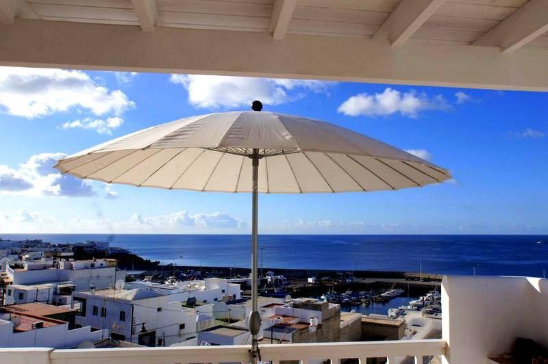 Ferienwohnung in Puerto del Carmen Terrasse mit Aussicht