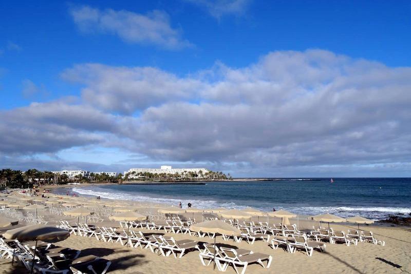 Strände auf Lanzarote - Playa de las Cucharas