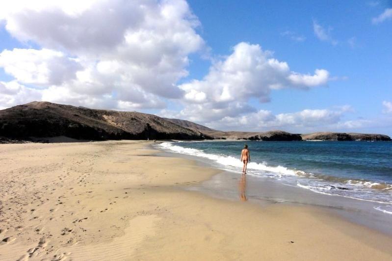 Playa de Papagayo - Playa Caleta del Congrio