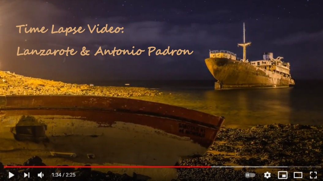 Timelapse Video Lanzarote-Antonio-Padron